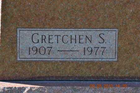 RENSHAW, GRETCHEN S. - Branch County, Michigan | GRETCHEN S. RENSHAW - Michigan Gravestone Photos
