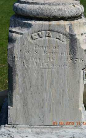 REYNOLDS, EVA A. - Branch County, Michigan | EVA A. REYNOLDS - Michigan Gravestone Photos