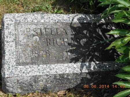 RICHARDSON, ESTELLA M. - Branch County, Michigan | ESTELLA M. RICHARDSON - Michigan Gravestone Photos