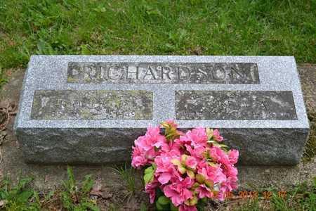 RICHARDSON, CLEO A. - Branch County, Michigan | CLEO A. RICHARDSON - Michigan Gravestone Photos