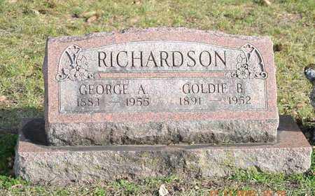 RICHARDSON, GEORGE A. - Branch County, Michigan | GEORGE A. RICHARDSON - Michigan Gravestone Photos