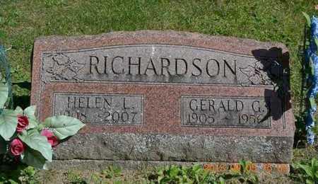 RICHARDSON, GERALD G. - Branch County, Michigan   GERALD G. RICHARDSON - Michigan Gravestone Photos
