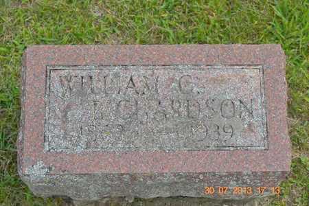 RICHARDSON, WILLIAM C. - Branch County, Michigan | WILLIAM C. RICHARDSON - Michigan Gravestone Photos