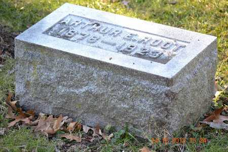 ROOT, ARTHUR E. - Branch County, Michigan | ARTHUR E. ROOT - Michigan Gravestone Photos