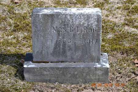 ROOT, CANDACE - Branch County, Michigan | CANDACE ROOT - Michigan Gravestone Photos