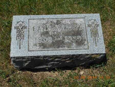 ROOT, EARL A. - Branch County, Michigan | EARL A. ROOT - Michigan Gravestone Photos