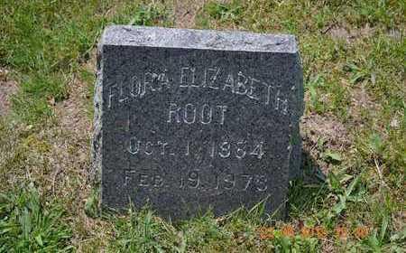 ROOT, FLORA ELIZABETH - Branch County, Michigan | FLORA ELIZABETH ROOT - Michigan Gravestone Photos