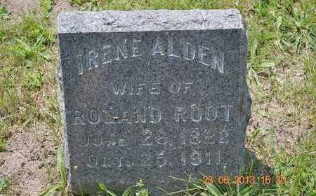ROOT, IRENE - Branch County, Michigan | IRENE ROOT - Michigan Gravestone Photos