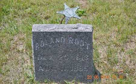 ROOT, ROLAND - Branch County, Michigan | ROLAND ROOT - Michigan Gravestone Photos