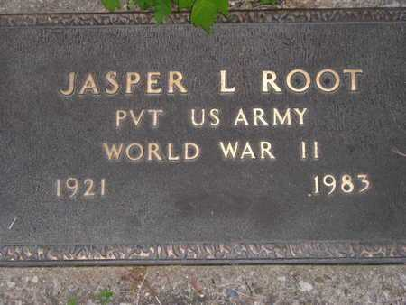 ROOT(CLOSEUP), JASPER L. - Branch County, Michigan | JASPER L. ROOT(CLOSEUP) - Michigan Gravestone Photos
