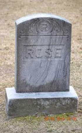 ROSE, FAMILY - Branch County, Michigan | FAMILY ROSE - Michigan Gravestone Photos