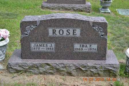 ROSE, JAMES J. - Branch County, Michigan | JAMES J. ROSE - Michigan Gravestone Photos