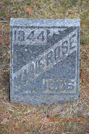 ROSE, MARIE - Branch County, Michigan | MARIE ROSE - Michigan Gravestone Photos