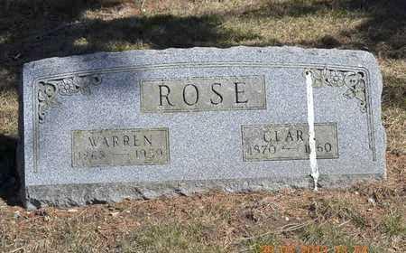 ROSE, CLARA - Branch County, Michigan | CLARA ROSE - Michigan Gravestone Photos