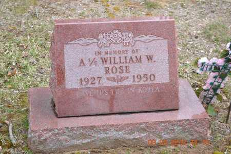 ROSE, WILLIAM W. - Branch County, Michigan | WILLIAM W. ROSE - Michigan Gravestone Photos