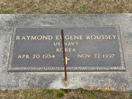 ROUSSEY, RAYMOND EUGENE - Branch County, Michigan | RAYMOND EUGENE ROUSSEY - Michigan Gravestone Photos