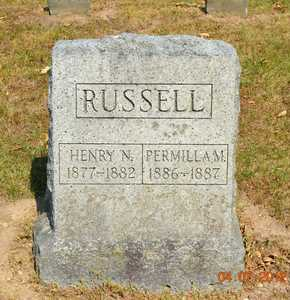 RUSSELL, HENRY N. - Branch County, Michigan | HENRY N. RUSSELL - Michigan Gravestone Photos