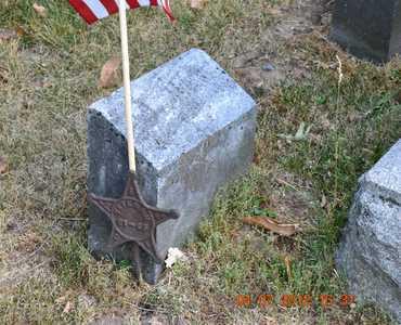 RUSSELL, SILAS JOSIAH - Branch County, Michigan | SILAS JOSIAH RUSSELL - Michigan Gravestone Photos