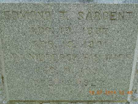 SARGENT, ADA - Branch County, Michigan | ADA SARGENT - Michigan Gravestone Photos