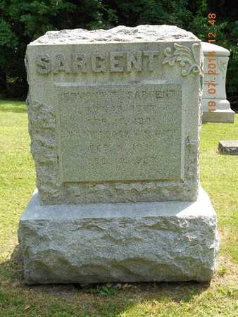 SARGENT, FAMILY - Branch County, Michigan   FAMILY SARGENT - Michigan Gravestone Photos