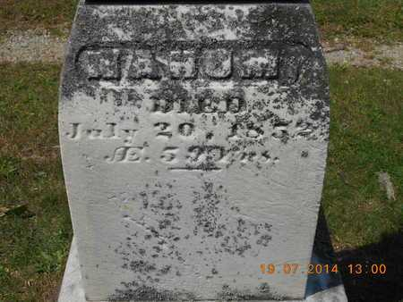 SARGENT, NAHUM - Branch County, Michigan | NAHUM SARGENT - Michigan Gravestone Photos