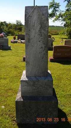 SHANK(REVERSE), ZEVALENA - Branch County, Michigan | ZEVALENA SHANK(REVERSE) - Michigan Gravestone Photos