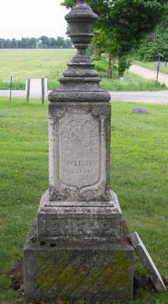 BELL SHELP, JARONULDA E. - Branch County, Michigan   JARONULDA E. BELL SHELP - Michigan Gravestone Photos