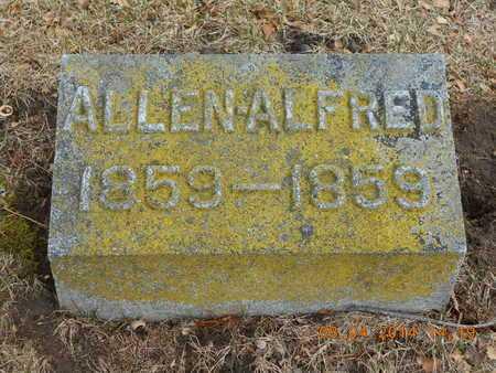 SHIPPY, ALLEN ALFRED - Branch County, Michigan   ALLEN ALFRED SHIPPY - Michigan Gravestone Photos