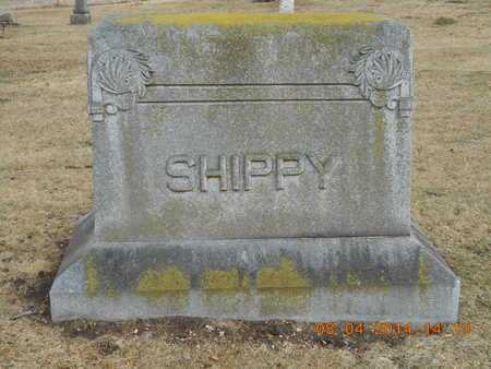 SHIPPY, FAMILY - Branch County, Michigan | FAMILY SHIPPY - Michigan Gravestone Photos