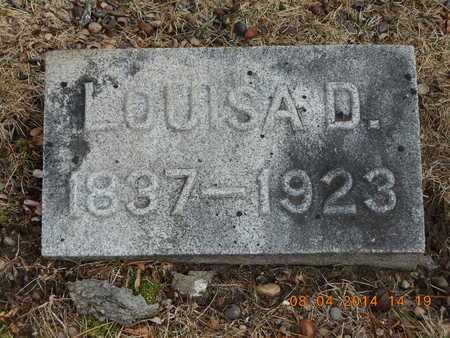 SHIPPY, LOUISA D. - Branch County, Michigan | LOUISA D. SHIPPY - Michigan Gravestone Photos