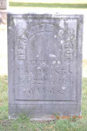 SHOOK, BENJAMIN - Branch County, Michigan | BENJAMIN SHOOK - Michigan Gravestone Photos