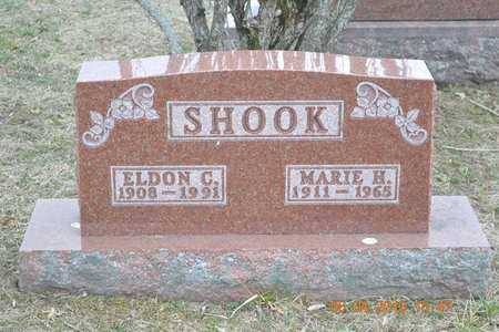 SHOOK, ELDON C. - Branch County, Michigan | ELDON C. SHOOK - Michigan Gravestone Photos