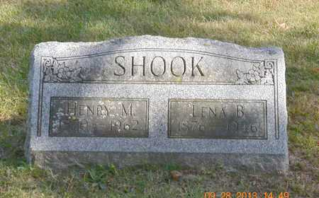 SHOOK, LENA B. - Branch County, Michigan | LENA B. SHOOK - Michigan Gravestone Photos