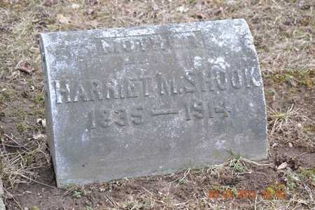 SHOOK, HARRIET M. - Branch County, Michigan   HARRIET M. SHOOK - Michigan Gravestone Photos