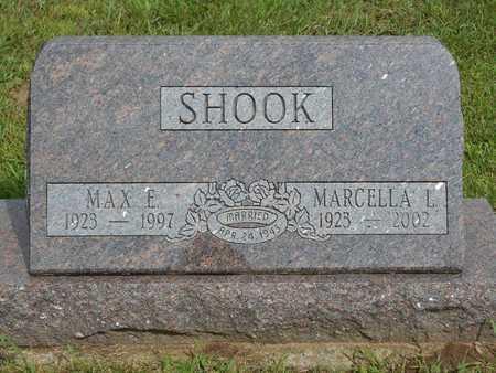 SHOOK, MAX E. - Branch County, Michigan | MAX E. SHOOK - Michigan Gravestone Photos
