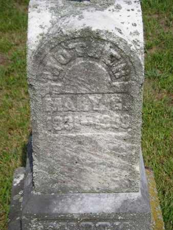 SHOOK, MARY G. - Branch County, Michigan | MARY G. SHOOK - Michigan Gravestone Photos