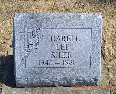 SILER, DARELL LEE - Branch County, Michigan   DARELL LEE SILER - Michigan Gravestone Photos