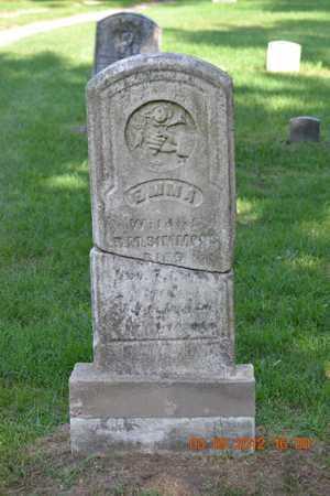 SIMMONS, EMMA - Branch County, Michigan   EMMA SIMMONS - Michigan Gravestone Photos