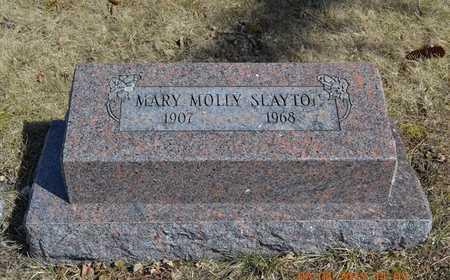 SLAYTON, MARY MOLLY - Branch County, Michigan | MARY MOLLY SLAYTON - Michigan Gravestone Photos