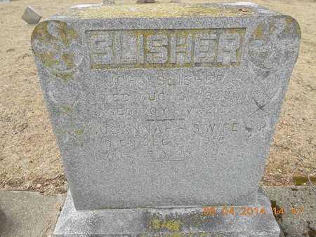 SLISHER, SUSANNAH - Branch County, Michigan | SUSANNAH SLISHER - Michigan Gravestone Photos