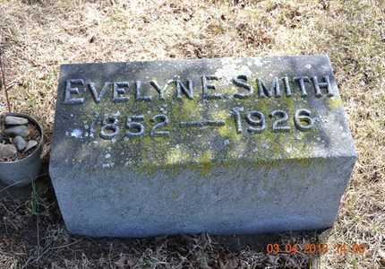 SMITH, EVELYN E. - Branch County, Michigan | EVELYN E. SMITH - Michigan Gravestone Photos