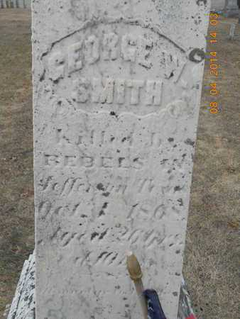 SMITH, GEORGE W. - Branch County, Michigan   GEORGE W. SMITH - Michigan Gravestone Photos