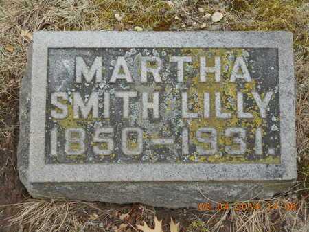BURGESS SMITH, MARTHA JANE - Branch County, Michigan | MARTHA JANE BURGESS SMITH - Michigan Gravestone Photos