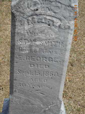 GEORGE SMITH, MARY - Branch County, Michigan | MARY GEORGE SMITH - Michigan Gravestone Photos