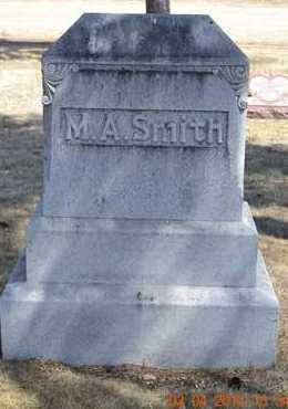 SMITH, MAHLON A. - Branch County, Michigan   MAHLON A. SMITH - Michigan Gravestone Photos
