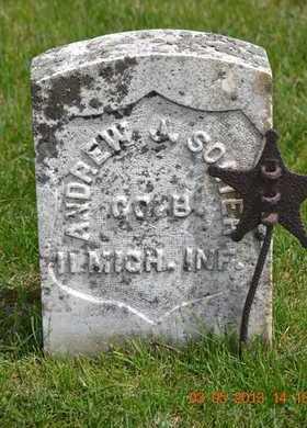 SORTER, ANDREW J. - Branch County, Michigan | ANDREW J. SORTER - Michigan Gravestone Photos