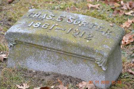SORTER, CHARLES E. - Branch County, Michigan | CHARLES E. SORTER - Michigan Gravestone Photos