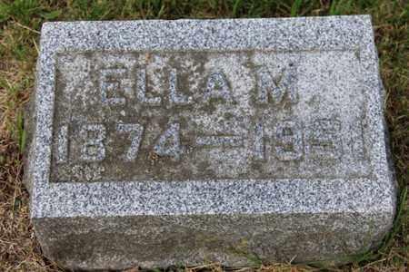 SORTER, ELLA - Branch County, Michigan   ELLA SORTER - Michigan Gravestone Photos