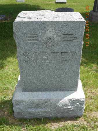 SORTER, FAMILY - Branch County, Michigan   FAMILY SORTER - Michigan Gravestone Photos