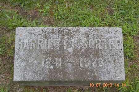 SORTER, HARRIETT C. - Branch County, Michigan | HARRIETT C. SORTER - Michigan Gravestone Photos